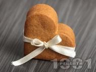 Лесни домашни канелени сладки с орехи и масло